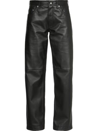 Neil Barrett Leather Trousers