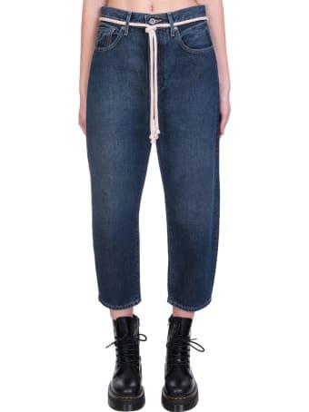 Levi's Barrel  Jeans In Blue Denim