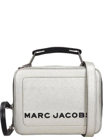 Marc Jacobs Shoulder Bag In Platinum Leather