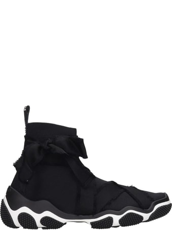 RED Valentino Sneakers In Black Canvas