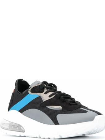 D.A.T.E. Black Aura Chunky Sneakers