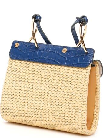 DANSE LENTE Mini Phoebe Folio Shoulder Bag