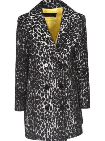 Ermanno Ermanno Scervino Double-breasted Leopard Coat