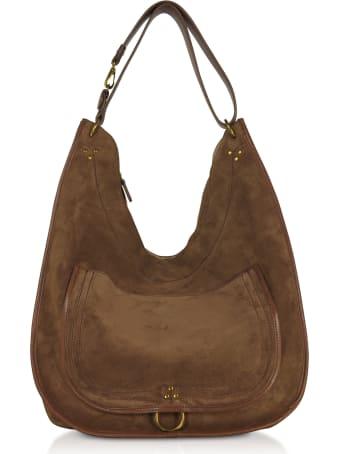 Jerome Dreyfuss Edgar Large Leather Shoulder Bag