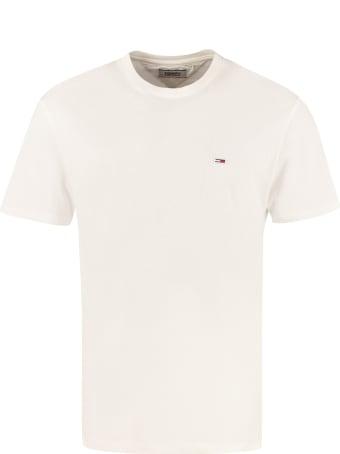 Tommy Jeans Logo Print Cotton T-shirt