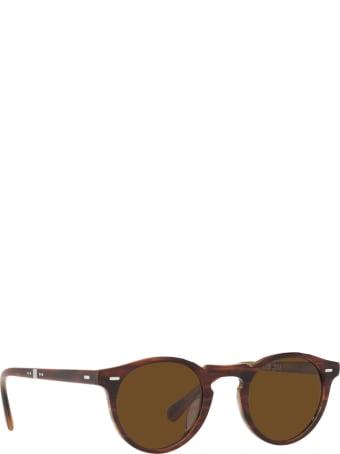 Oliver Peoples Oliver Peoples Ov5456su Amaretto / Striped Honey Sunglasses