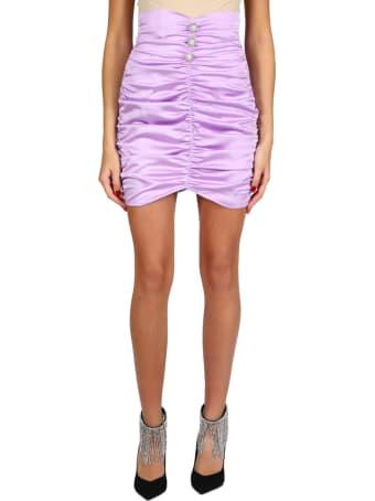 Nineminutes Draped Mini Skirt