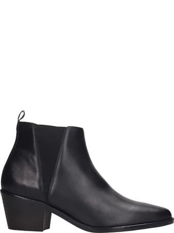 Castañer Gabriella Sandals In Black Leather