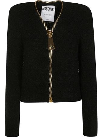 Moschino Thick Zip Jacket
