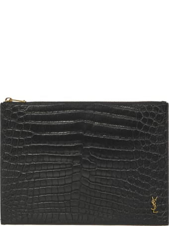 Saint Laurent Monogram I-pad Case