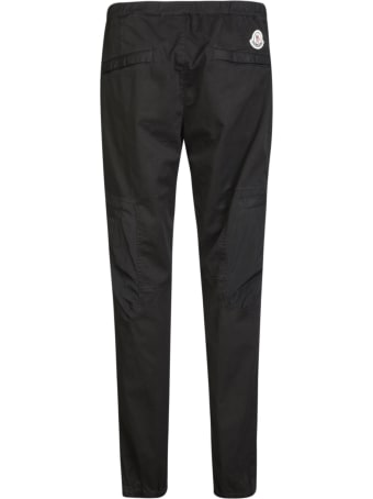 Moncler Rear Logo Patched Trousers