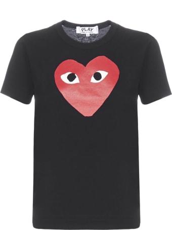 Comme des Garçons Play Short Sleeve T-Shirt