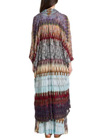 Missoni Maxi Caridan In Lurex Knit