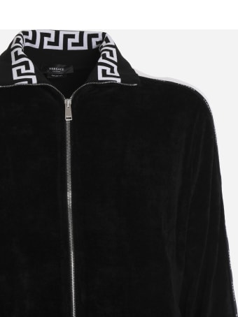 Versace Sports Jacket With Logo Band