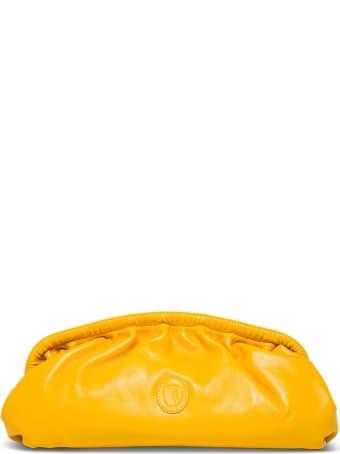 Trussardi Handbag In Yellow Leather
