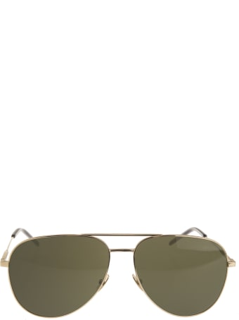 Saint Laurent Classic 11 Sunglasses With Fume'  Lenses