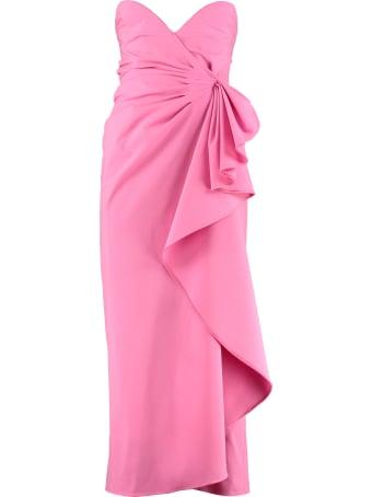The Attico Draped Corset Dress