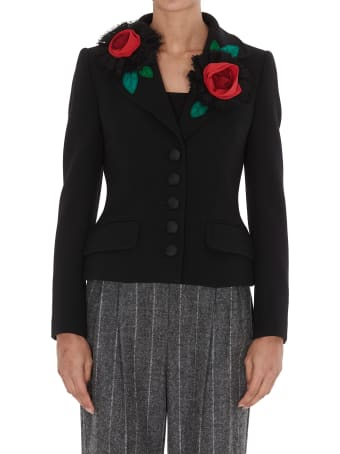 Dolce & Gabbana Short Jacket With Applications