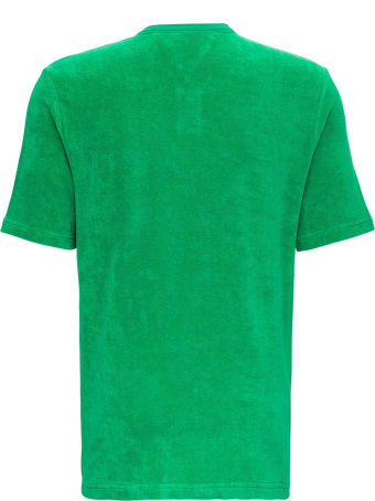 Bottega Veneta Green Terry Cloth T-shirt