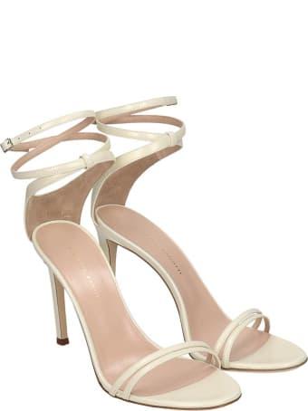 Giuseppe Zanotti Catia Sandals In White Leather
