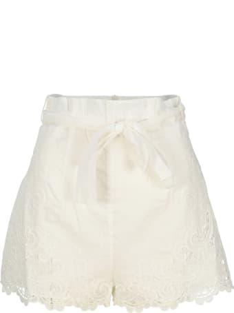 Zimmermann The Lulu Scallop Shorts