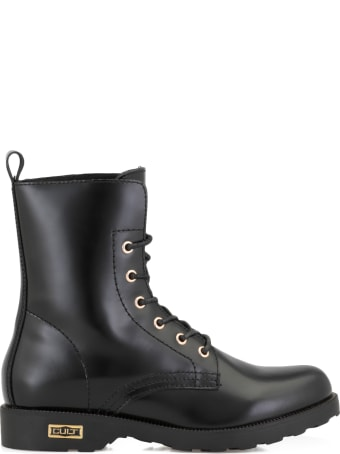 Cult Leather Zeppelin 472 Army Boots