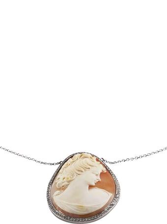Lo Spazio Jewelry Lo Spazio Cameo Lucente Necklace