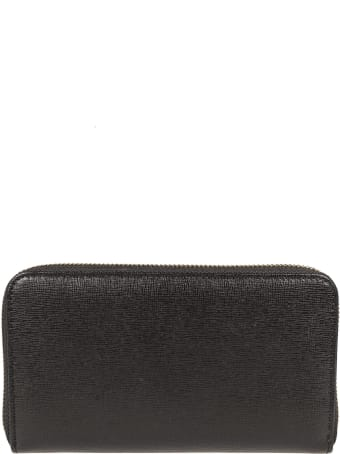Coccinelle Logo Zip Around Wallet