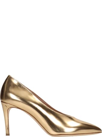Laurence Dacade Pumps In Gold Leather