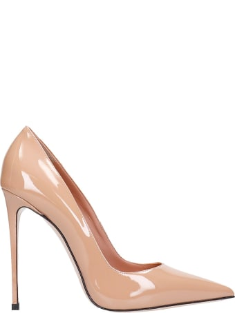 Le Silla Deco Eva 120 Pumps In Powder Patent Leather