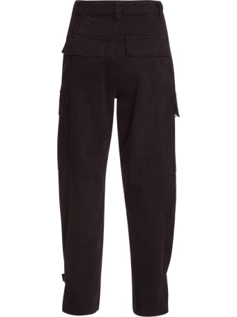 Essentiel Antwerp Black Cargo Pants