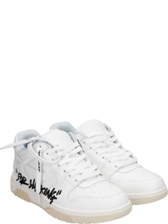 2Star Sneakers In White Suede And Leather