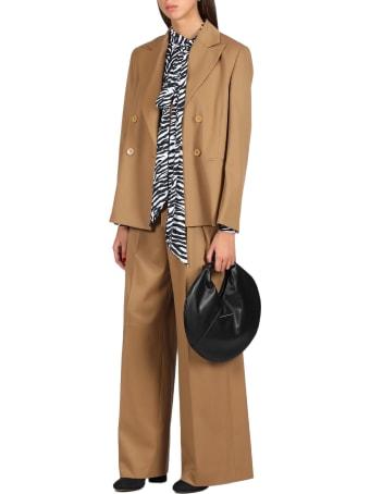 MM6 Maison Margiela Zebra Printed Bodysuit