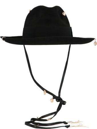 Ruslan Baginskiy 'piercing Fedora Hat' Hat