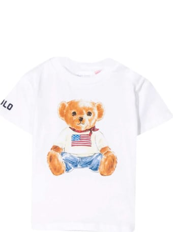 Ralph Lauren White T-shirt With Press