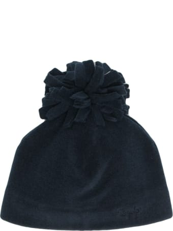 Il Gufo Hat With Pom Pon Detail