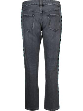Alanui Alanui Tubular Beads Jeans