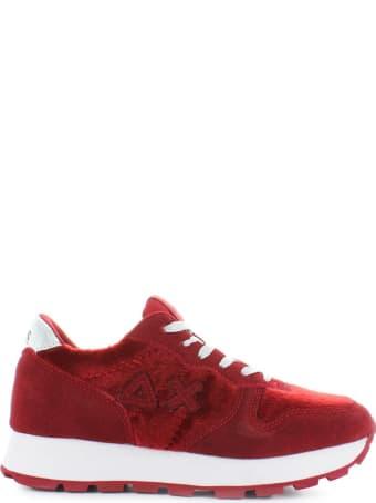 Sun 68 Sun68 Red Ally Horse Body Sneaker