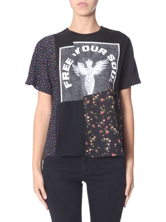 McQ Alexander McQueen Free Your Soul T-shirt