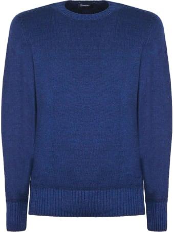 Drumohr Blue Merino Wool Sweater