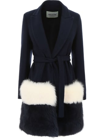 Ava Adore Coat With Fox Fur