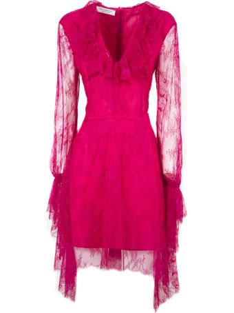 Philosophy di Lorenzo Serafini Long Red Fabric Dress