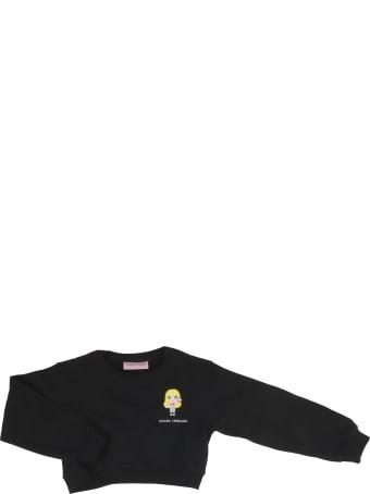 Chiara Ferragni Crop Mascotte Sweatshirt