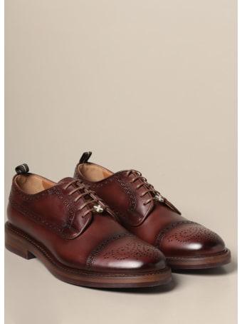 Brimarts Brogue Shoes Brimarts Derby In Vintage Leather