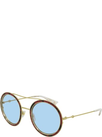 Gucci GG0061S LEATHER Sunglasses