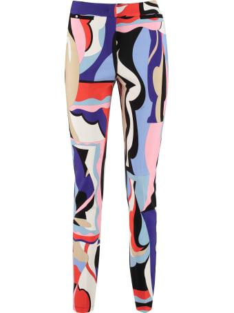 Emilio Pucci Printed Stretch Trousers