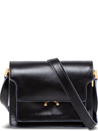 Marni Trunk Mini Leather Crossbody Bag