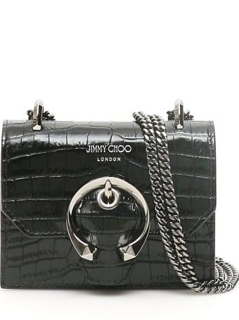 Jimmy Choo Mini Paris Mini Bag With Monogram