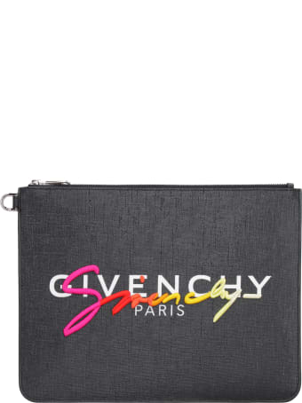 Givenchy Logo Detail Flat Pouch
