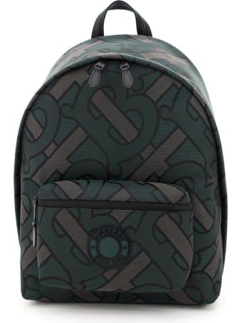 Burberry Jett Backpack Jacquard Monogram